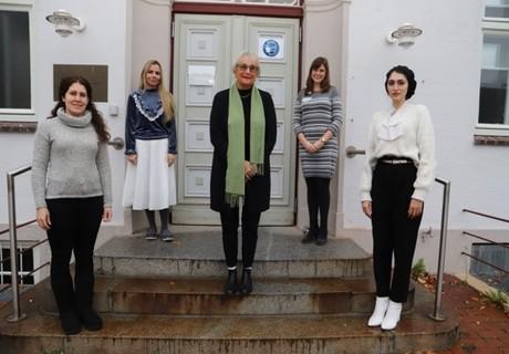 Visit of graduate students to Lübeck November 2020